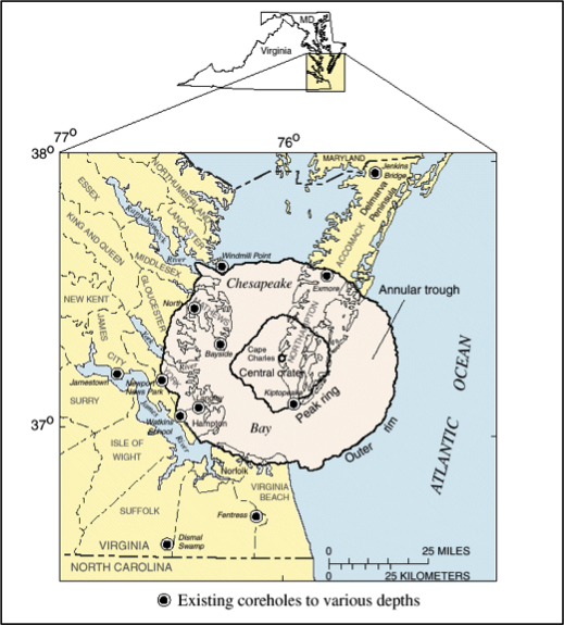 Chesapeake Bay Impact Drilling
