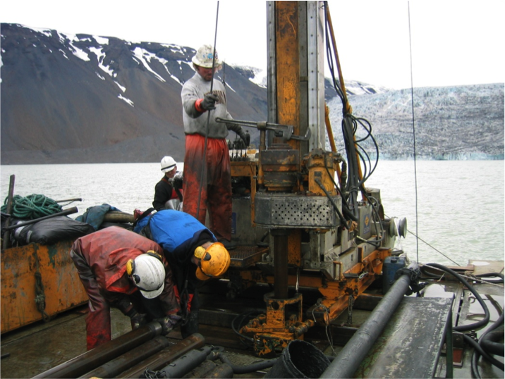 Iceland Lakes Scientific Core Drilling Services Project