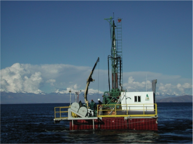Lake Titicaca Drilling