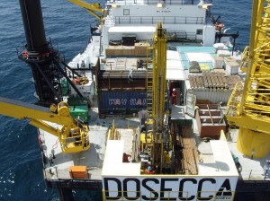 GEOTECHNICAL OFFSHORE DRILLING