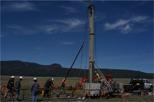 Valles Caldera Scientific Core Drilling Services