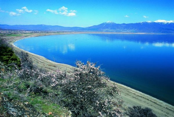 Lake Ohrid scientific core drilling project, located in Ohrid, Macedonia