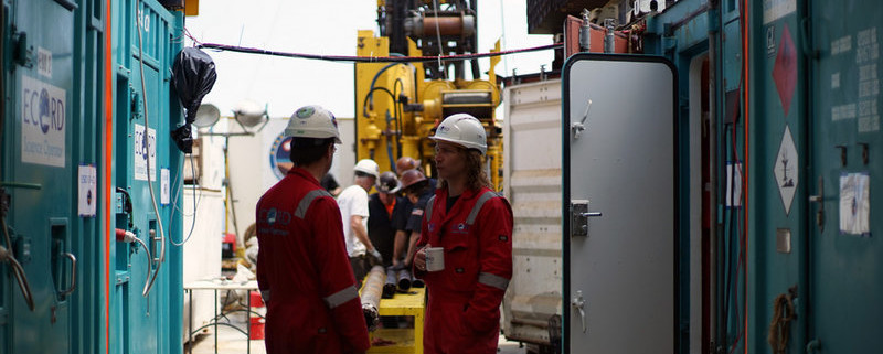 Drilling at Chicxulub